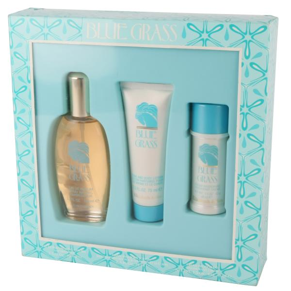 Elizabeth Arden Blue Grass Gift Set 100ml Eau De Parfum With Hand