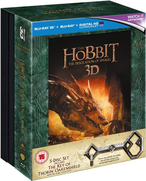The Hobbit: The Desolation of Smaug 3D - Steelbook Editie ...