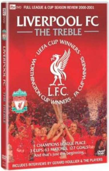 Liverpool FC - The Treble DVD | Zavvi