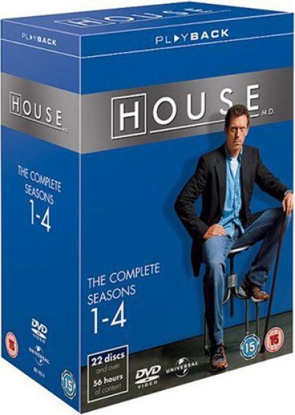 House M.D - Seasons 1-4