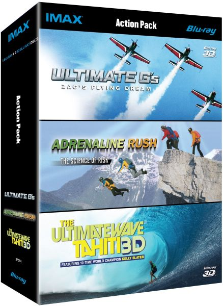 IMAX: Adrenaline Rush Collection (3D and 2D Blu-Ray)