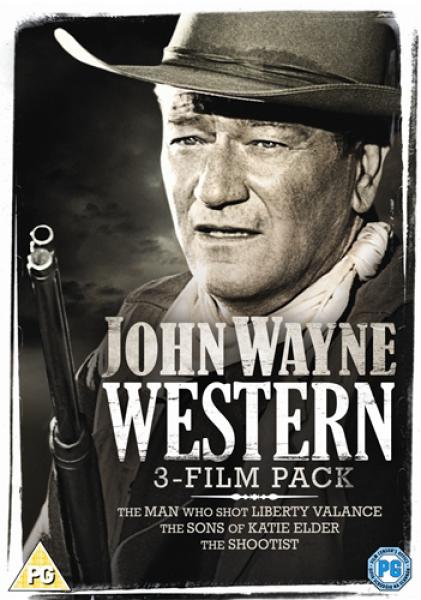 John Wayne Western Triple