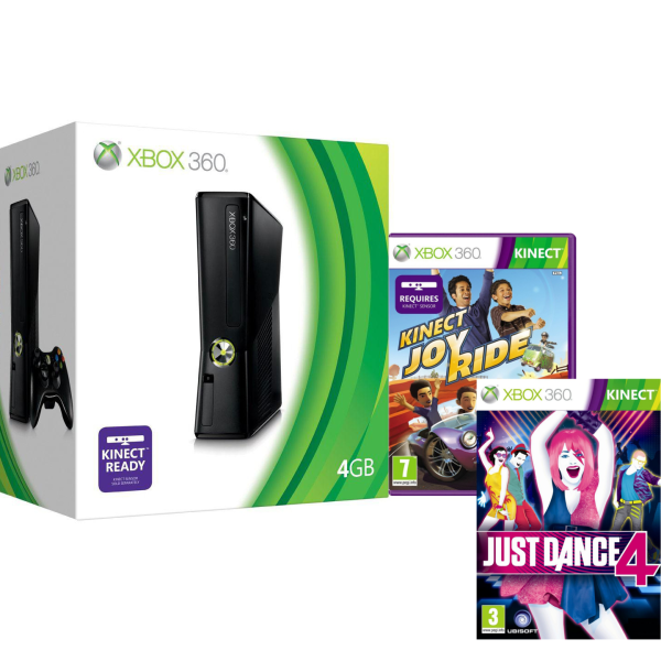 Just Dance Game For Xbox 360 : Xbox gb bundle with kinect includes just dance