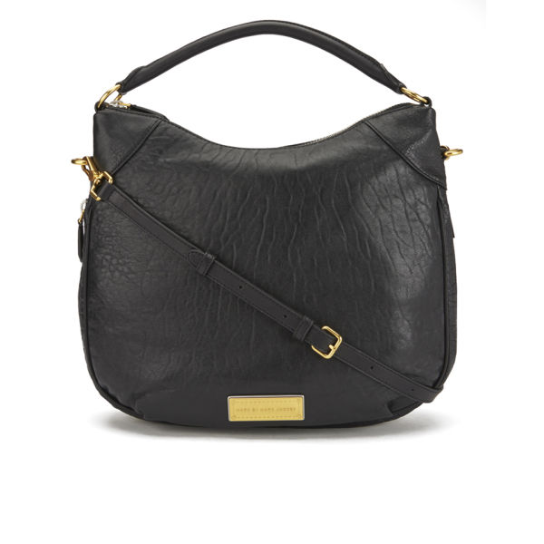 911b0e9739d Marc by Marc Jacobs Washed Up Billy Hobo Bag - Black Multi - Free UK ...