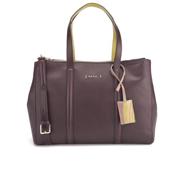 Paul Smith Accessories Women's Double Zip Tote Bag - Wine