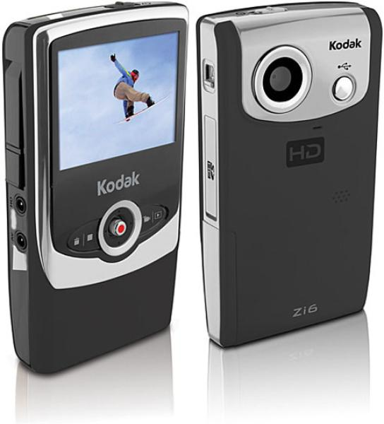 kodak zi6 pocket video camera electronics zavvi rh zavvi com Kodak Zi8 Kodak Zi6 User Guide