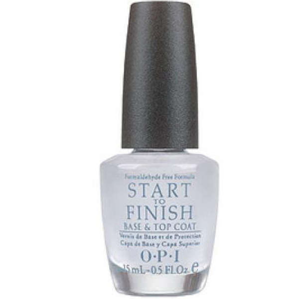 OPI Start To Finish Base de uñas y capa superior (15ml)