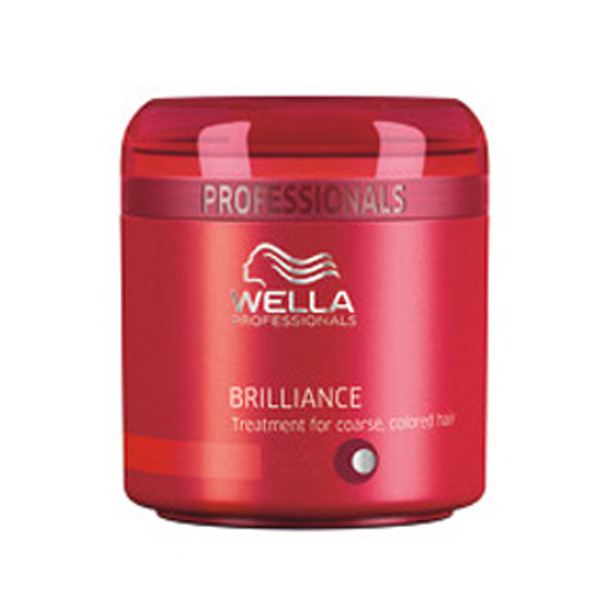 Masque brillance Wella Professionals Brilliance - cheveux épais colorés (500ml)