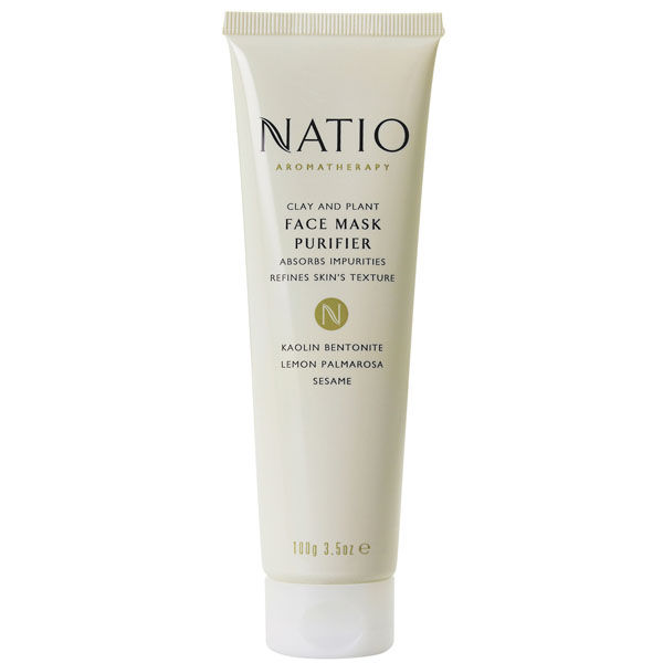 Natio Ton & Pflanzen Face Mask Purifier (100 g)