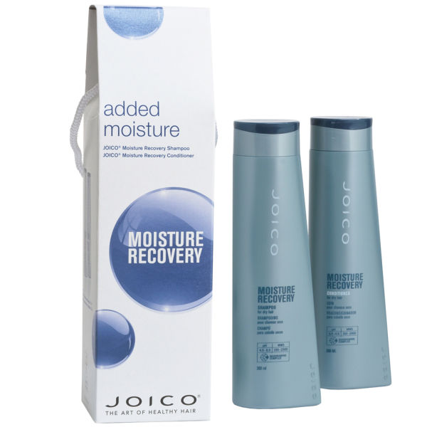 Joico Moisture Recovery Xmas Pack (Shampoo 300ml & Conditioner 300ml)
