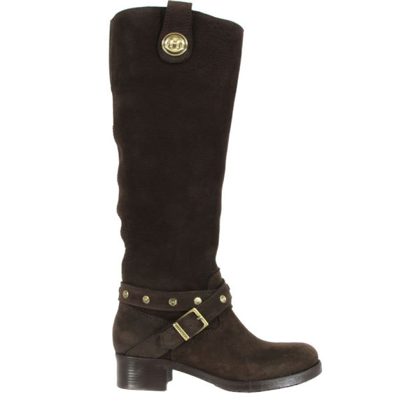 Hunter Women's Culford Brown Nubuck Boots - Chocolate