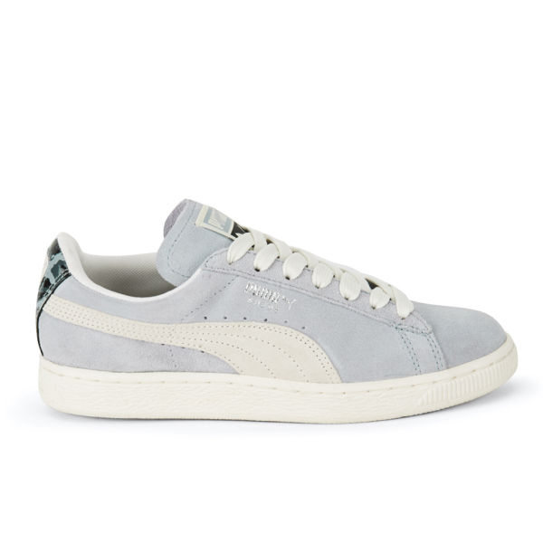 e2be40e9595 Puma Women s Suede Classic Natural Calm Trainers - Quarry  Image 1