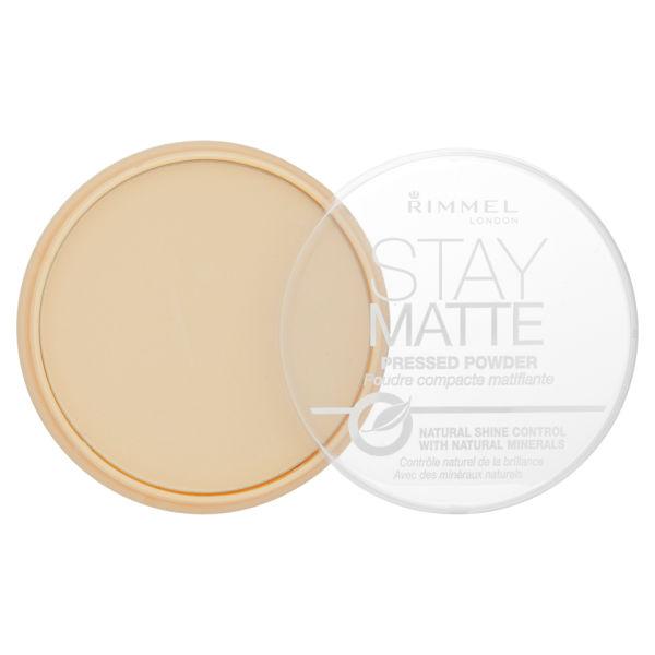 Rimmel Stay Matte Pressed Powder - Transparent: Image 1