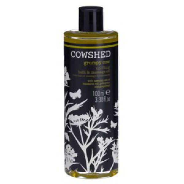 Cowshed Grumpy Cow - Uplifting Bath & Massage Oil (100ml)