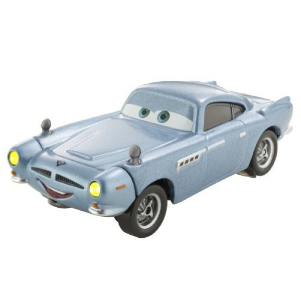 Cars 2 Spy Attack Finn Mcmissile: Cars 2: 1:55 Light And Sounds Die-Cast Vehicle Finn