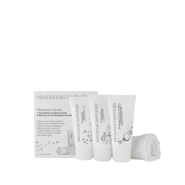 ELEMENTAL HERBOLOGY WEEKEND FACIAL KIT (3 PRODUCTS)
