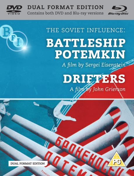Battleship Potemkin / Drifters (Blu-Ray and DVD)