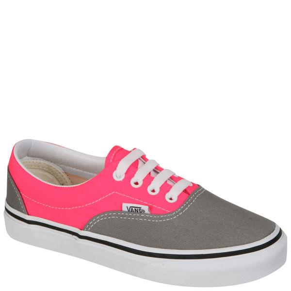 Vans Kids' ERA Trainer (2 Tone) - Frost Grey/Neon Pink