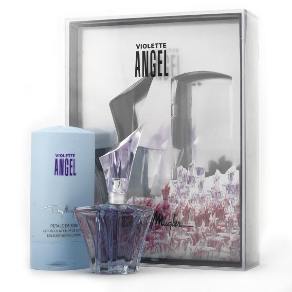 Thierry Mugler Angel Violette Gift Set 25ml Eau De Parfum With