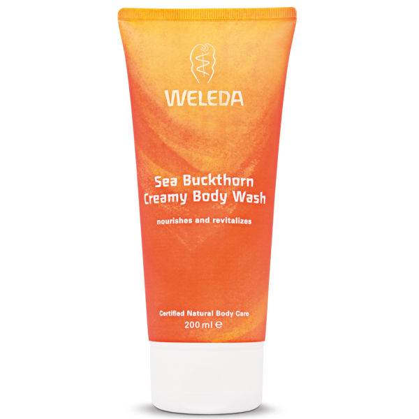Weleda Sea Buckthorn Creamy Body Wash (200 ml)