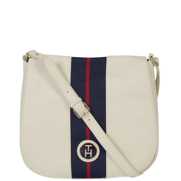 Tommy Hilfiger Women's Lizzie Cross Body Bag - Whisper White