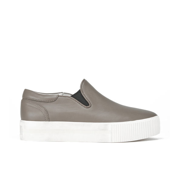 Ash Women's Karma Leather Slip-On Trainers - Perkish