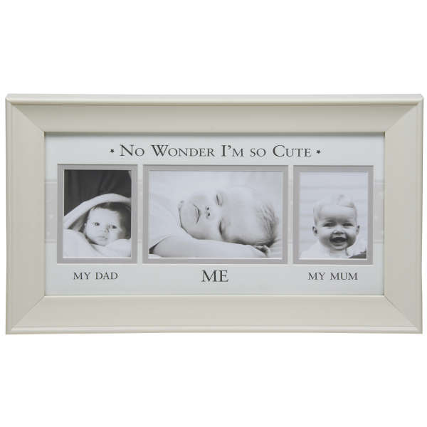 Moments frame mum, dad and me 3 pictures Gifts | TheHut.com