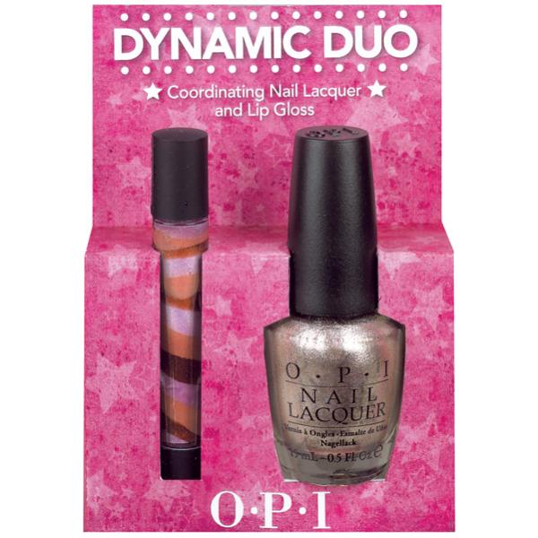 OPI Dynamic Duo - Designer...De Better & Holiday Lip Gloss