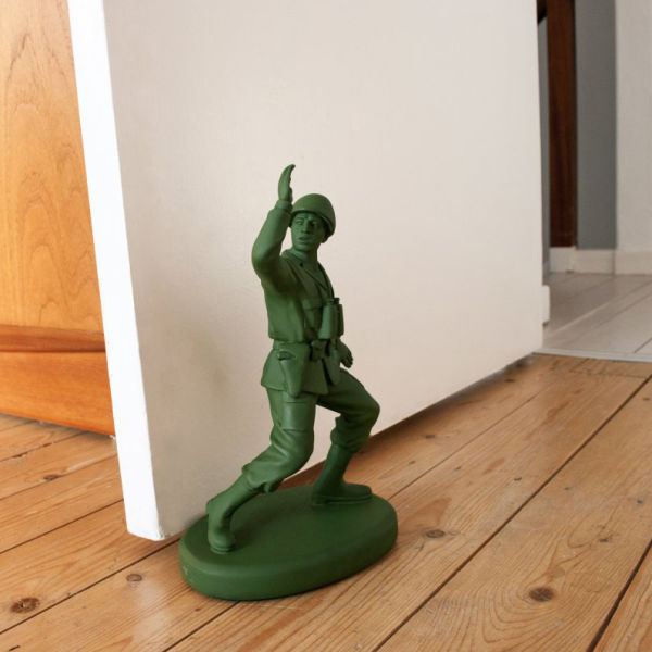 Toy Soldier Shaped Door Stop Homeguard & Toy Soldier Shaped Door Stop Homeguard | IWOOT