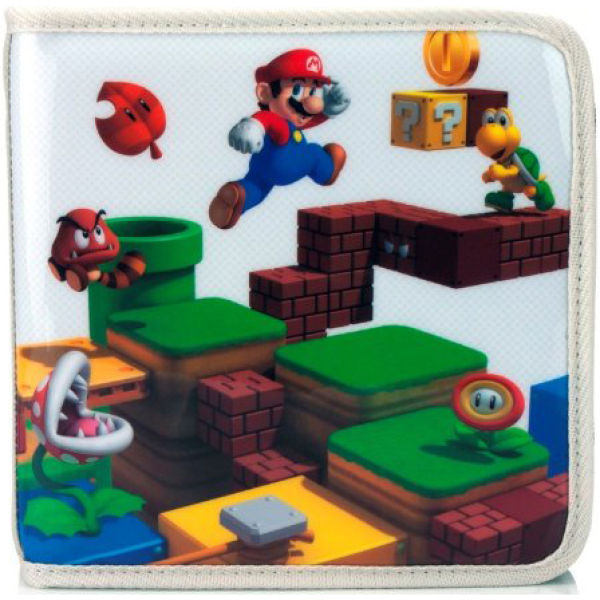 Super Mario: 3D Land Pull N Go Folio Case (Nintendo 3DS