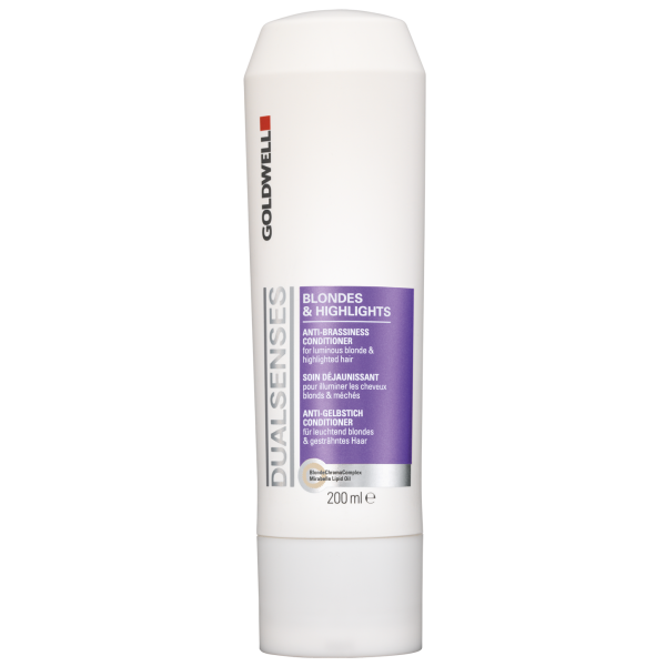 Goldwell Dualsenses Blondes & Highlights Anti-Brassiness Conditioner (200ml)