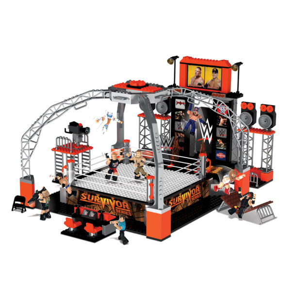 Wwe Smackdown Survivor Series Deluxe Ring Set