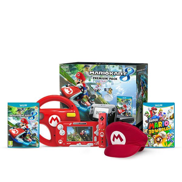 wii u mario kart 8 mega bundle nintendo official uk store. Black Bedroom Furniture Sets. Home Design Ideas
