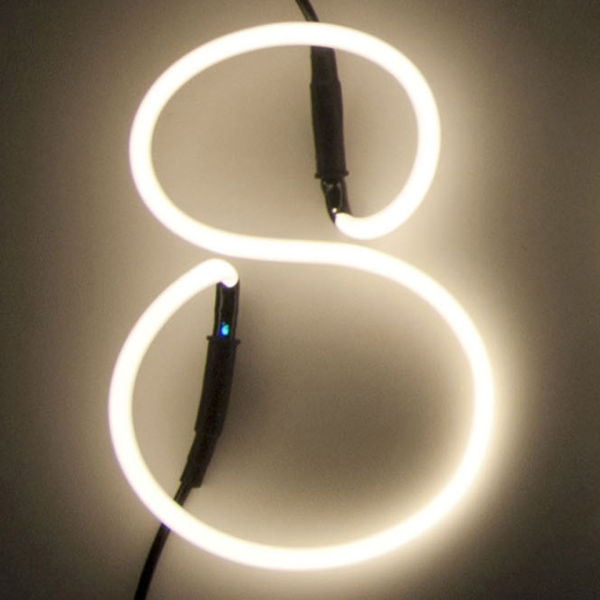 Seletti Neon Font Shaped Wall Light - 8