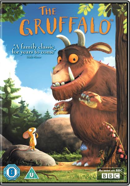 The Gruffalo Dvd Zavvi