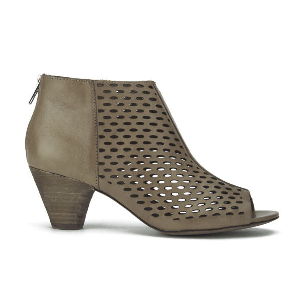 Ash Leather Peep-Toe Ankle Boots cheap with mastercard OeoGqVz