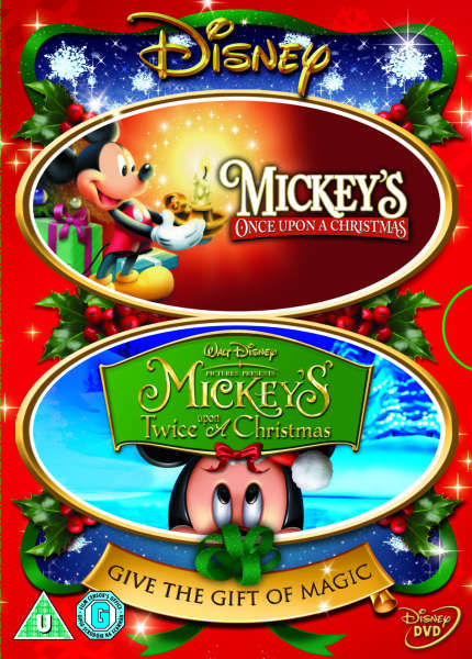 Mickey Once Upon A Christmas.Mickey S Once And Mickey S Twice Upon A Christmas