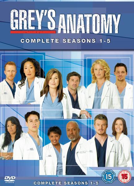 Greys Anatomy Seasons 1 5 Complete Box Set Dvd Zavvi
