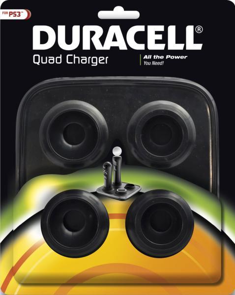 Chargeur Duracell Quad pour PS3