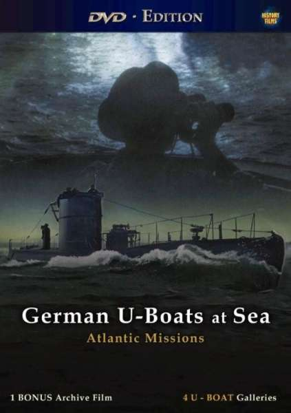 German U-Boats At Sea-Atlantic Missions