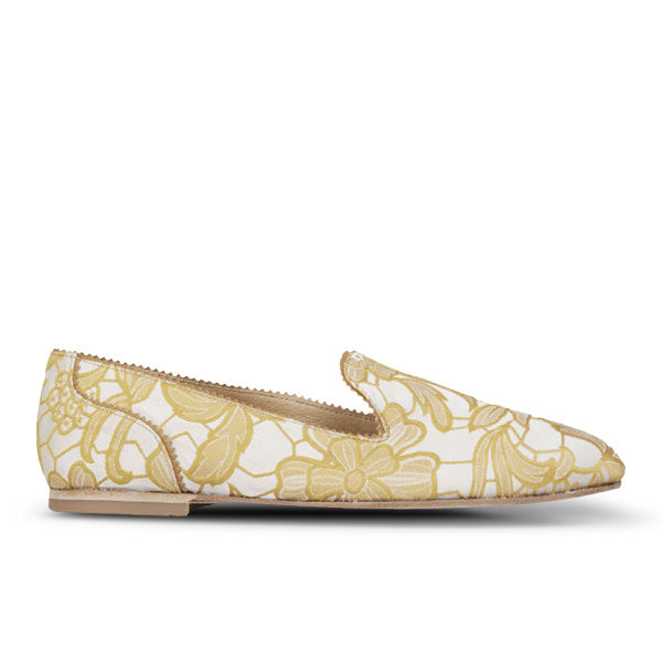 H Shoes by Hudson Women's Cossette Slip On Pumps - Yellow