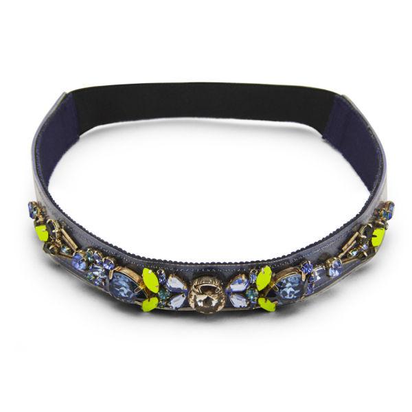 Matthew Williamson Women's Glitter Headband - Navy