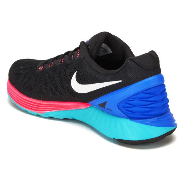 fd6877fd22ec ... germany nike mens lunarglide 6 running shoes black blue pink df551 e3283