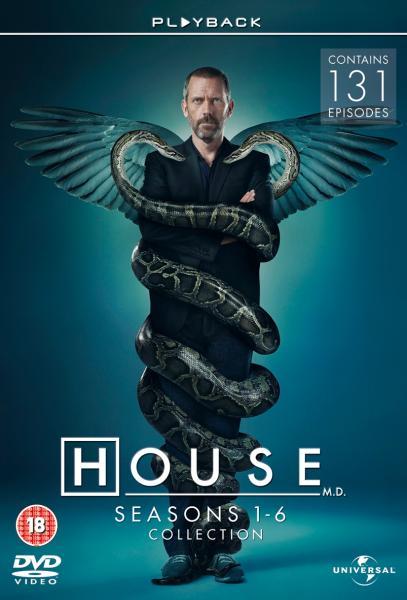 House M.D Seasons 1 6 Box Set DVD | Zavvi España