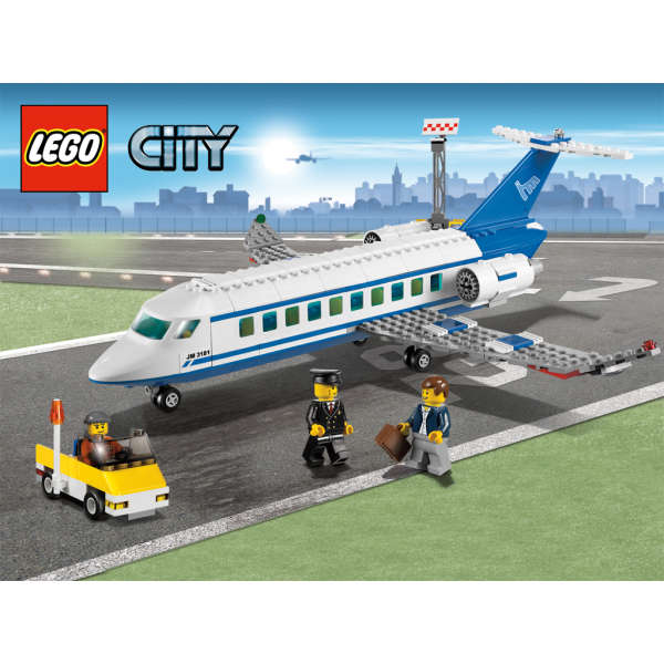 LEGO City: Airport Passenger Plane (3181) Toys | Zavvi