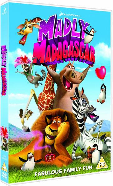 madly madagascar dvd zavvicom