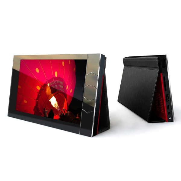 Portable Digital Photo Album Black Pink Iwoot