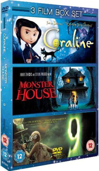 Coraline Monster House 9 Dvd Zavvi