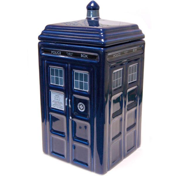 Dr who tardis ceramic cookie jar iwoot - Tardis ceramic cookie jar ...