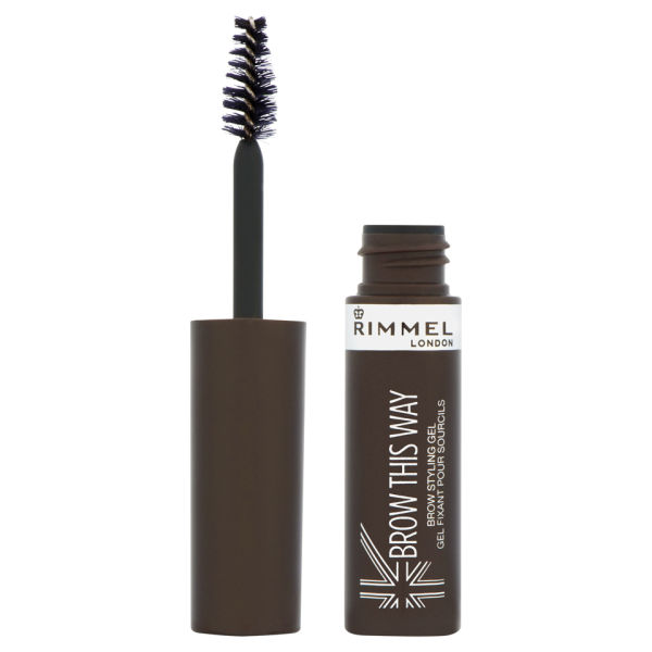 Rimmel BrowThis Way眉胶 - 深棕色